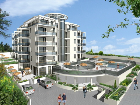 Complex of Holiday Apartments BOMOND, Nessebar, Black sea, Bulgaria