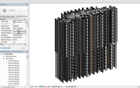 I am currently working on 55 story residential tower
