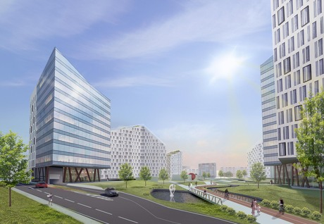 Renovation of the Industrial district in Minsk