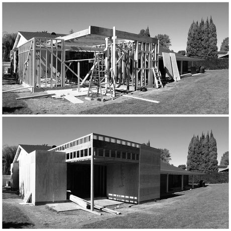 Construction Management for MYD's Villa Park project: contemporary architecture in Orange County
