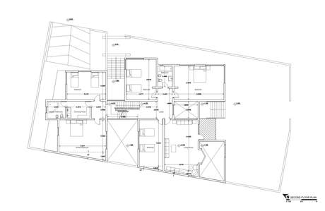 House in Erbil, Iraq | Second Floor Plan