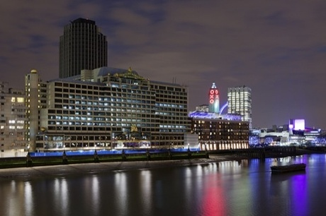 Design Research Studio is developing Sea Containers House - situated between the OXO Tower and Blackfriars Bridge – into the new hotel, which will open in 2014.