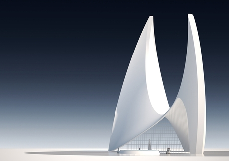 proposal for a mosque in Qatar