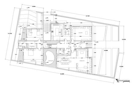 House in Erbil, Iraq | Ground Floor PLan