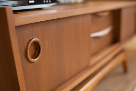 Details of wood furniture