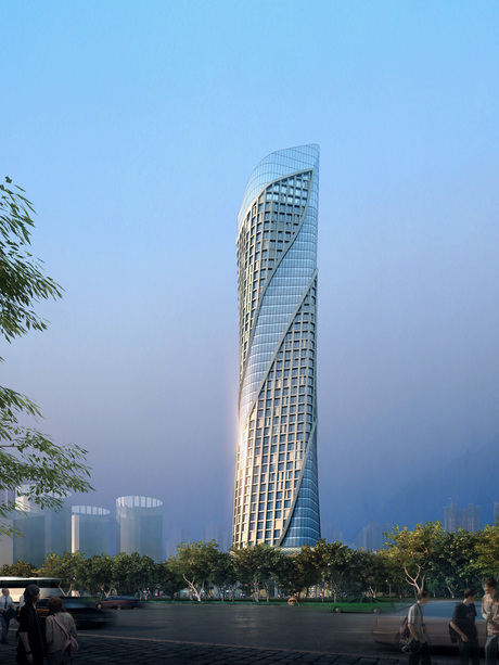 Qian Shan Office Landmark – Zhuhai (China)