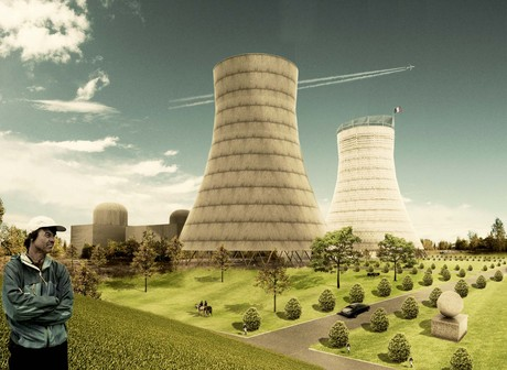 final projects, cooling towers become a political center