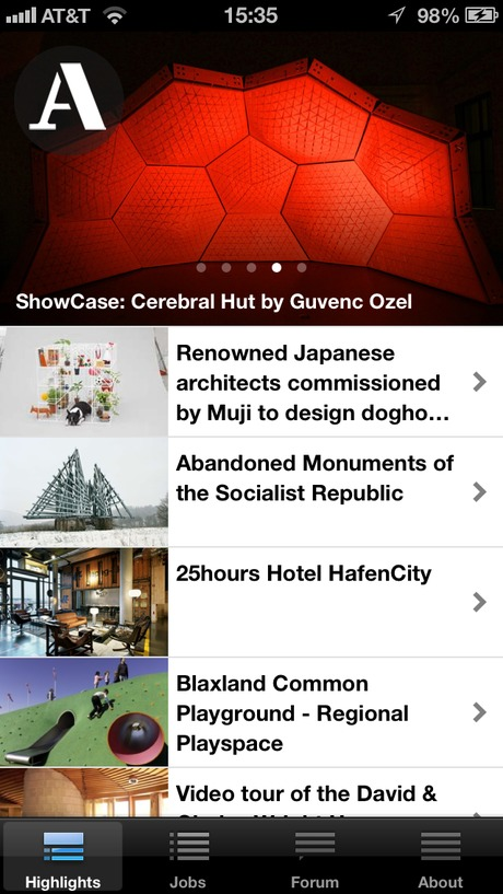 we've learned that the Archinect iPhone app has been crashing for some users outside of the USA region format. A fix has been submitted to Apple and should be available in the next 7 days
