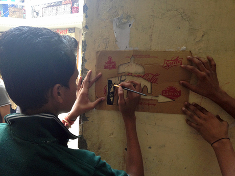 Exploring navigation and way-finding in the urban villages of Delhi as a means of addressing larger issues of social exclusion, infrastructure and safety in such communities, supported by RISD's GS Grant and the Maharam STEAM Fellowship.