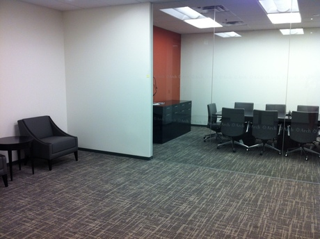Photo taken of newly built out Denver office