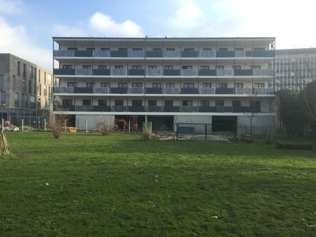 Construction of 41 apartments in France