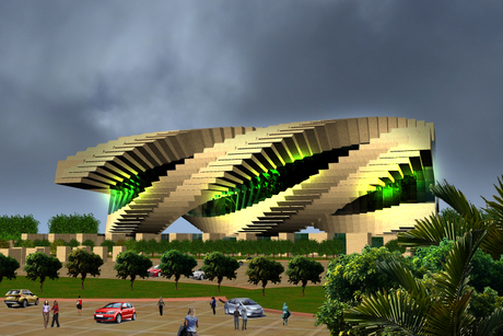 ...Theater(3D Architectural design) shot 6