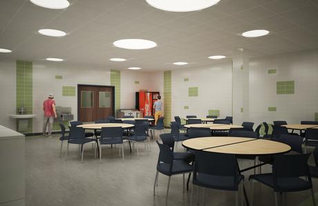 Crotona Academy- Cafeteria
