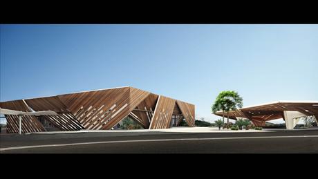 Aranda\Lasch- Palais des Spectacles- Libreville, Gabon