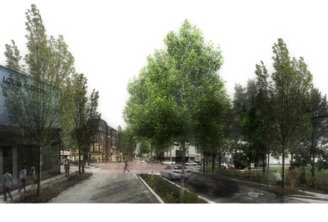 University of Kentucky/ Landscape Architecture/ Community Planning and Engagement Studio/ Bullitt County Kentucky, Downtown Shepherdsville Revitalization