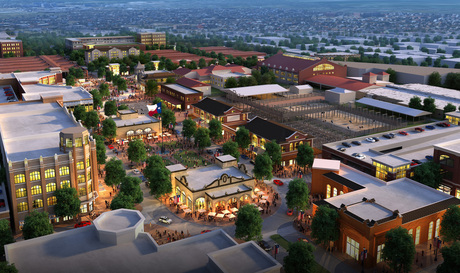 Texas, Stockyards Redevelopment - View 2
