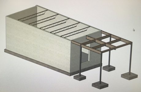 Small Pump House or Tiny Home Concept...
