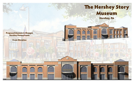 The Hershey Museum Building Facade Study