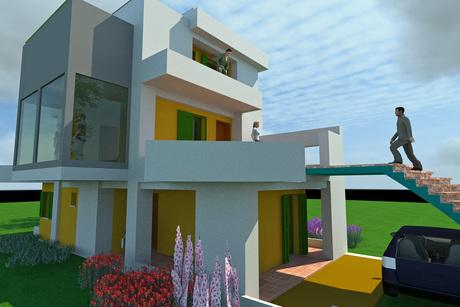 ES1d2O HOUSE (reinforced concrete)