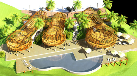 The Nyior Resort, project develpment. Malaysia (2010)