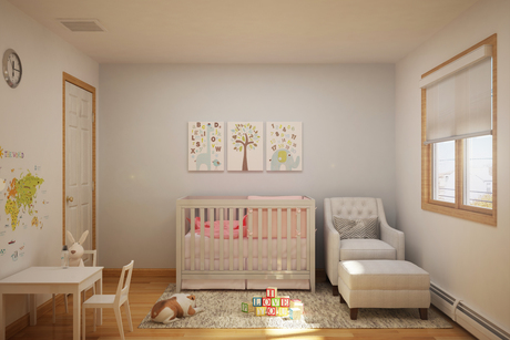 Daughter's Room Rendering - She's due May 2016