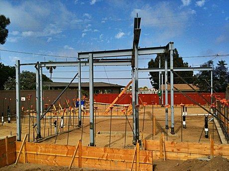 Steel Frame Completed