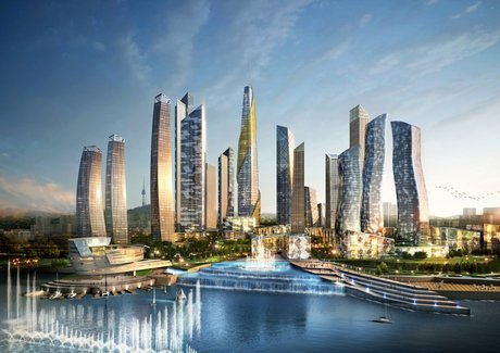 Yongsan International Business- residential towers