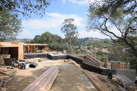 Progress on our latest house in Beverly Hills