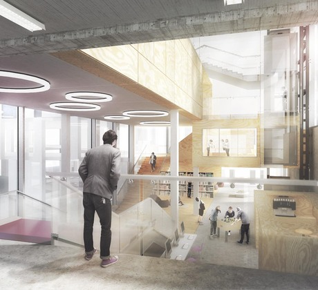 NEA _ Nearkitekter submits proposal for the new architecture school of Aarhus!