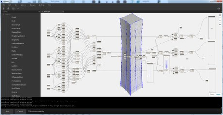 Dynamo Script for double curvature of the facade