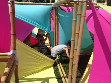Sail Boxes, Tactile Exploratory Playground