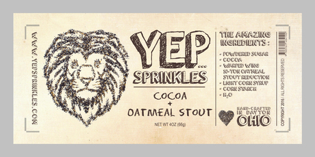 YEP Sprinkles Logo Development and Print Media