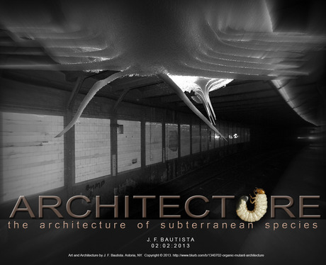 ...Architecture of subterranean species - City Hall, NYC