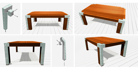 table for designboom TIFF competition added to portfolio