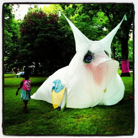 Sparky the Cowfish inflatable has been invited to Provincetown 10 Days of Art 2012 Festival. Friday, September 28 to Sunday, October 7, 2012. http://www.10daysofart.org 