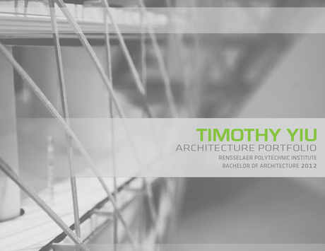 Recently updated my portfolio! Please view at http://issuu.com/timothy_yiu/docs/portfolio