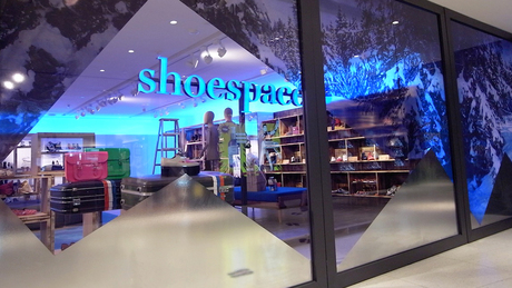 Working on furniture design and production for shoespace, LAB