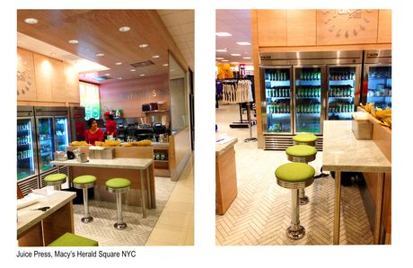 Juice Press, Macy's Herald Square, NYC - Complete