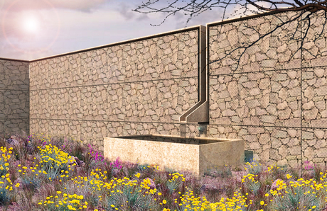 gabion wall/fountain (version 3 revised)