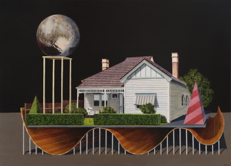The Animated House, recent exhibition at Hill Smith Gallery, Adelaide, South Australia