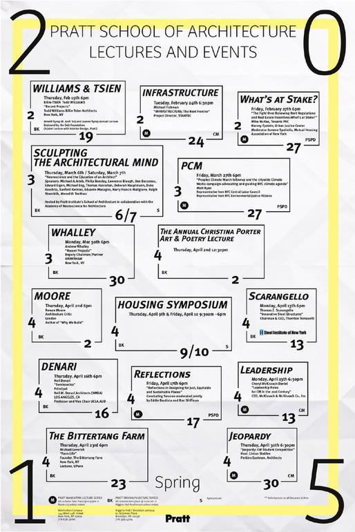Poster courtesy of Pratt Institute.