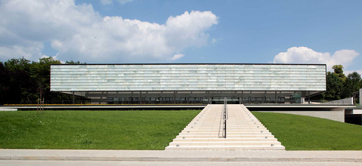 The new Administrative Building of the Croatian Bishops' Conference in Zagreb, Croatia (Photographer: Miro Martinić)
