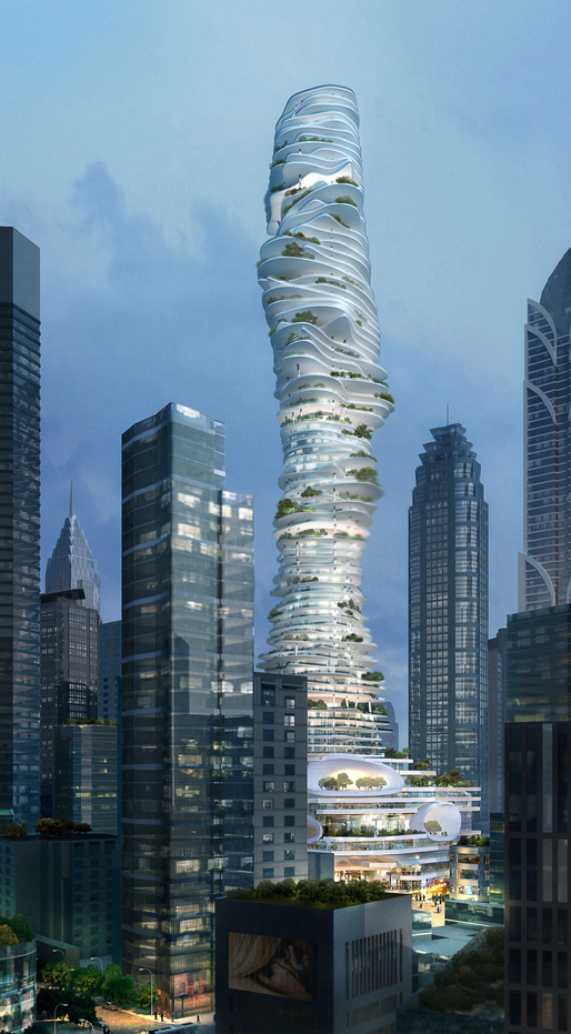 Urban Forest, courtesy of MAD Architects.