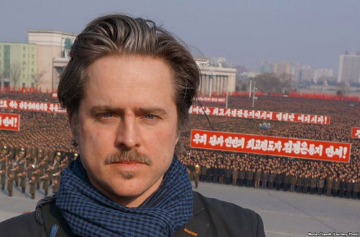 "Morten Traavik produced the first Norwegian arts festival in North Korea, ""Yes, we love this country"", named after Norway's national anthem. (The Art Newspaper; Photo: voanews.com)"