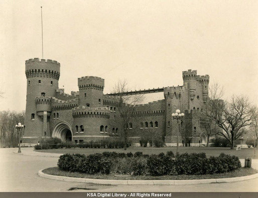 Armory, before demolition (historical photos from the archives at The Ohio State University Knowlton School of Architecture Digital Library)
