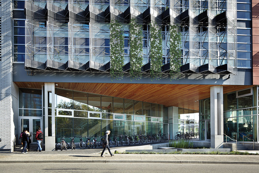 Perkins+Will's Centre for Interactive Research on Sustainability wins 2015 RAIC Green Building Award. Photo: Martin Tessler
