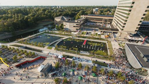 Erasmus University Campus Masterplan Jvantspijker