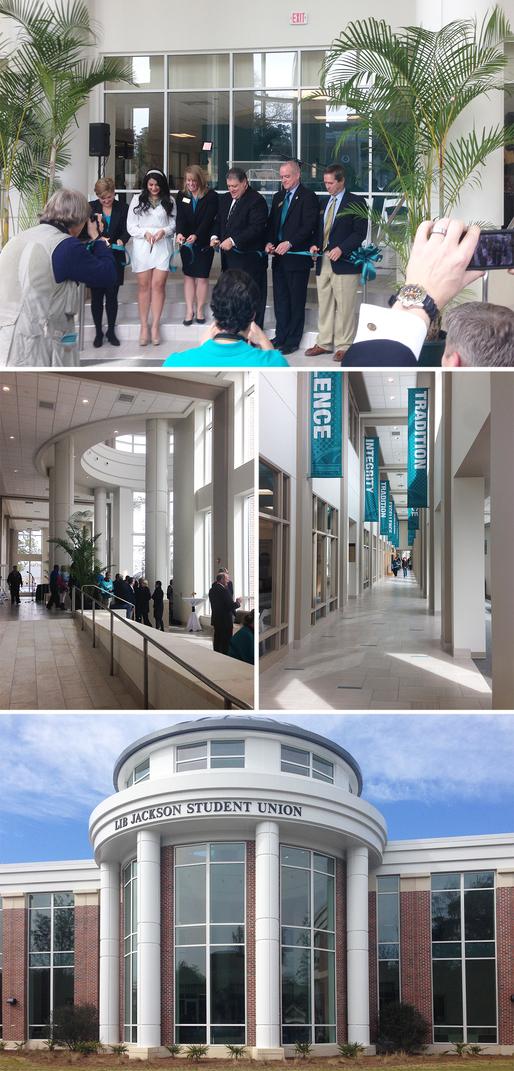 Coastal Carolina University's Lib Jackson Student Center Dedication Ceremony