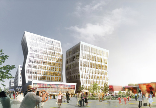 Rendering, Hotel (Image: HAO/Archiland Beijing)