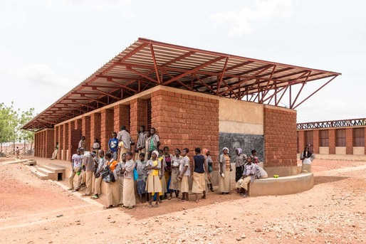 Gourcy School project in Burkina Faso, by Article 25. © Grant Smith